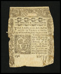 Colonial Notes:Connecticut, Connecticut June 7, 1776 1s/3d Very Good, backed....