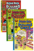 Silver Age (1956-1969):Humor, Richie Rich Dollars and Cents #2-109 File Copies Box Lot (Harvey, 1963-82) Condition: Average VF/NM.... (Total: 108 )