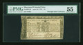 Colonial Notes:Maryland, Maryland April 10, 1774 $1 PMG About Uncirculated 55....