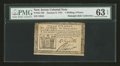 Colonial Notes:New Jersey, New Jersey January 9, 1781 1s/6d PMG Choice Uncirculated 63 EPQ....