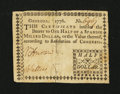Colonial Notes:Georgia, Georgia 1776 $1/2 Very Fine+....