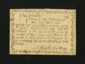 Colonial Notes:Massachusetts, Massachusetts June 18, 1776 1s/8d About New....