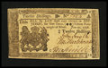 Colonial Notes:New Jersey, New Jersey June 22, 1756 12s Gem New....
