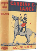 Books:First Editions, W. S. Nye. Carbine and Lance. The Story of Old Fort Sill.Norman: University of Oklahoma Press, 1937.... (Total: 2 Items)