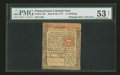 Colonial Notes:Pennsylvania, Pennsylvania March 20, 1771 15s PMG About Uncirculated 53 Net....