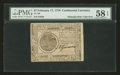 Colonial Notes:Continental Congress Issues, Continental Currency February 17, 1776 $7 PMG Choice About Unc 58EPQ....