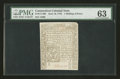 Colonial Notes:Connecticut, Connecticut June 19, 1776 1s/6d Uncanceled PMG Choice Uncirculated 63....