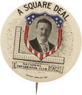 Political:Pinback Buttons (1896-present), Theodore Roosevelt: Premiere 1912 TR Single-Picture Button Design....