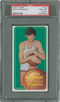 Basketball Cards:Singles (1970-1979), 1970-71 Topps Pete Maravich #123 PSA NM-MT 8 (OC)....