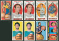 Basketball Cards:Lots, 1969-70 & 1970-71 Topps Basketball Collection (170)....