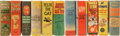 Golden Age (1938-1955):Miscellaneous, Big Little Book Humor Group Condition: Average VF/NM.... (Total: 11 Items)