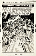 Original Comic Art:Covers, Ron Wilson and John Romita Sr. Avengers #125 Cover OriginalArt (Marvel, 1974).... (Total: 2 Items)