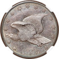 Patterns, 1855 P1C Flying Eagle Cent, Judd-168, Pollock-193, R.4, PR66 BrownNGC....