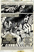 Original Comic Art:Panel Pages, Frank Miller and Bruce Patterson Marvel Spotlight #8 CaptainMarvel page 1 Original Art (Marvel, 1980)....