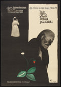 "Movie Posters:Drama, Wild Strawberries (CWF, 1960). Polish One Sheet (23"" X 33""). Drama.. ..."