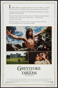 "Movie Posters:Adventure, Greystoke: The Legend of Tarzan, Lord of the Apes Lot (WarnerBrothers, 1983). One Sheets (2) (27"" X 41"" and 27"" X 40"") SS a...(Total: 2 Items)"