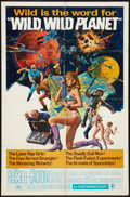 "Movie Posters:Science Fiction, Wild, Wild Planet (MGM, 1967). One Sheet (27"" X 41""). Science Fiction.. ..."