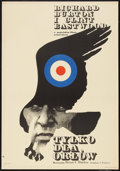 "Movie Posters:War, Where Eagles Dare (CWF, 1972). Polish One Sheet (22.5"" X 32.5"").War.. ..."