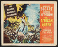 """Movie Posters:Adventure, The African Queen (United Artists, 1952). Title Lobby Card (11"""" X14""""). Adventure.. ..."""