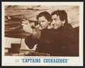 """Movie Posters:Adventure, Captains Courageous (MGM, R-1962). Lobby Cards (10) (11"""" X 14"""").Adventure.. ... (Total: 10 Items)"""