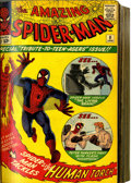 Silver Age (1956-1969):Superhero, Amazing Spider-Man #8-283 and Annuals #1-20 Bound Volumes (Marvel,1964-86).... (Total: 2 Items)