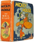 Platinum Age (1897-1937):Miscellaneous, Big Little Book #731 Mickey Mouse the Mail Pilot (Whitman, 1933)Condition: VG+....