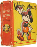 Platinum Age (1897-1937):Miscellaneous, Big Little Book #717 Mickey Mouse Second Printing (Whitman, 1933)Condition: GD/VG....
