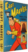 Big Little Book:Superhero, Big Little Book #nn Captain Marvel Dime Action Book (Fawcett, 1941)Condition: FN/VF....