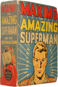 Golden Age (1938-1955):Science Fiction, Big Little Book #1445 Maximo the Superman and the Supermachine(Whitman, 1941) Condition: VF-....