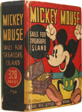 Platinum Age (1897-1937):Miscellaneous, Big Little Book #750 Mickey Mouse Sails for Treasure Island(Whitman, 1933) Condition: VG/FN....