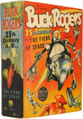 Golden Age (1938-1955):Science Fiction, Big Little Book #1409 Buck Rogers and the Fiend of Space (Whitman,1940) Condition: FN/VF....