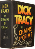 Platinum Age (1897-1937):Miscellaneous, Big Little Book #1185 Dick Tracy in Chains of Crime (Whitman, 1936)Condition: VF/NM....