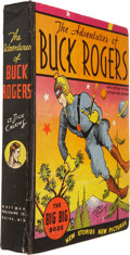 Platinum Age (1897-1937):Miscellaneous, Big Big Book #4057 Adventures of Buck Rogers (Whitman, 1934)Condition: Apparent FN....