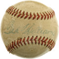 Autographs:Baseballs, Ted Williams Single Signed Mini Baseball....