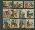 "Non-Sport Cards:Sets, 1911 T53 Hassan ""Cowboy Series"" Partial Set (30/49). ..."