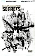 Original Comic Art:Covers, Greg Land and Jay Leisten Ultimate Secrets Cover OriginalArt (Marvel, 2008)....