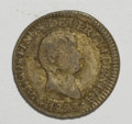 Mexico, Mexico: Augustin Iturbide 1/2 Real 1823 and 2 Reales 1822,...(Total: 2 coins)