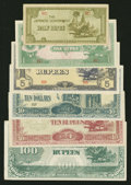 Canadian Currency: , 1954 and Later Canadian Grab Bag and World Notes in Very Good orBetter.. ... (Total: 71 notes)