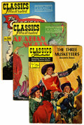 Golden Age (1938-1955):Classics Illustrated, Classics Illustrated Short Box Lot (Gilberton, 1950s-60s)Condition: Average VG....