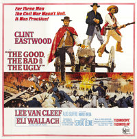 "The Good, the Bad and the Ugly (United Artists, 1968). Six Sheet (81"" X 81"")"