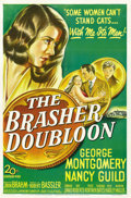 "Movie Posters:Crime, The Brasher Doubloon (20th Century Fox, 1946). One Sheet (27"" X41""). ..."