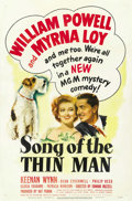 """Movie Posters:Mystery, Song of the Thin Man (MGM, 1947). One Sheet (27"""" X 41"""")...."""
