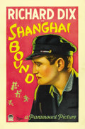 "Movie Posters:Adventure, Shanghai Bound (Paramount, 1927). One Sheet (27"" X 41""). ..."