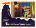 "Movie Posters:Drama, The Treasure of the Sierra Madre (Warner Brothers, 1948). LobbyCard (11"" X 14""). ..."