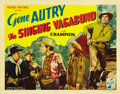 """Movie Posters:Western, The Singing Vagabond (Republic, 1935). Title Lobby Card (11"""" X 14"""") and Lobby Card (11"""" X 14""""). ... (Total: 2 Items)"""
