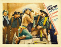 "Movie Posters:Western, Somewhere in Sonora (Vitagraph, 1933). Lobby Card (11"" X 14""). ..."