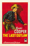 "Movie Posters:Western, The Last Outlaw (Paramount, 1927). One Sheet (27"" X 41"") Style A...."