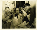 """Movie Posters:Comedy, Three Stooges Promotional Still (Columbia, 1936). Still (8"""" X 10""""). ..."""