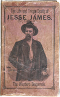 Books:Non-fiction, [Anonymous]. Jesse James: The Life and Daring Adventures of ThisBold Highwayman and Bank Robber...