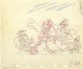 Animation Art:Production Drawing, Dumbo Animation Production Drawing Original Art (Disney,1941)....